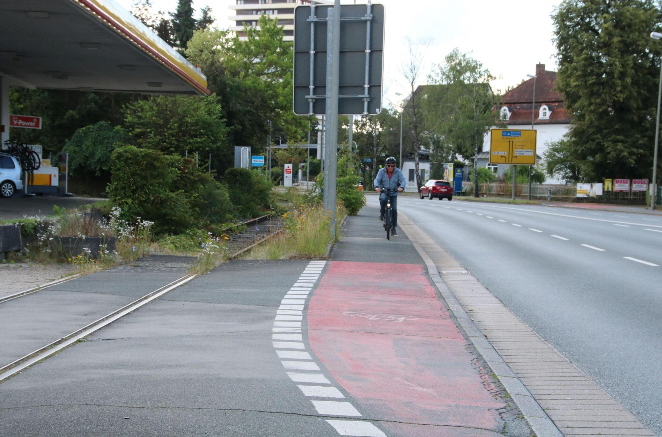 Radweg Kreuzstein