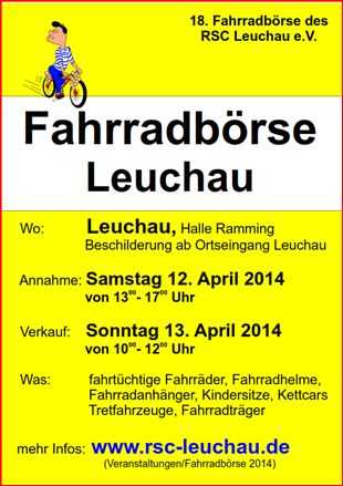 Fahrradbörse 2014
